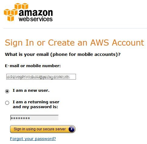 AWS Account anlegen